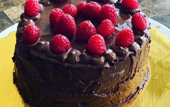 ORGANIC-CHOCOLATE CAKE (VEGAN AND GLUTEN-FREE OPTIONS AVAILABLE)
